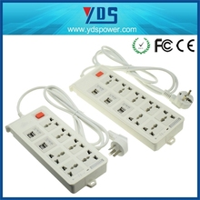 In Stock Smart Plug Power Strip Outlet Socket 7 outlets + 6 USB Extension usb Socket Plug