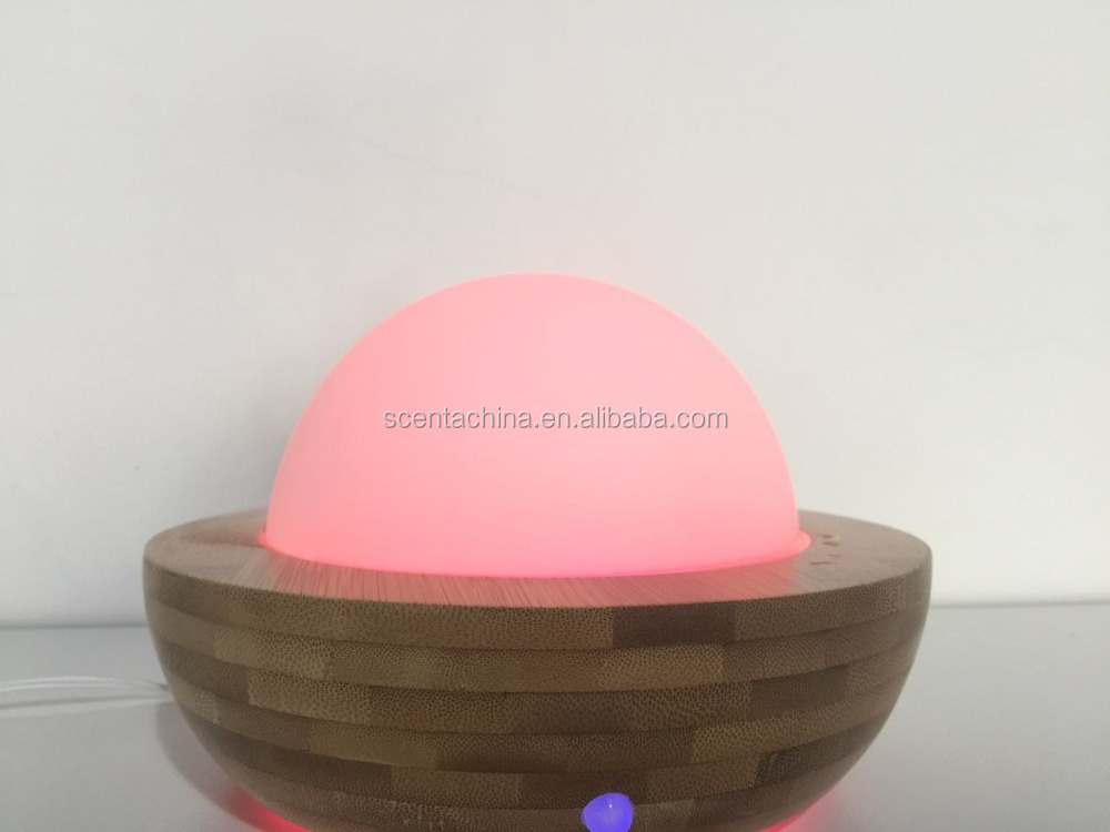 150ml ultrasonic air humidifier wooden aroma diffuser