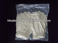 Clear Powder free Vinyl disposable/examination gloves