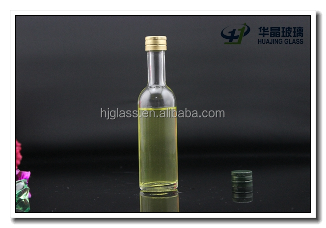 Empty mini glass sprit wine bottles 50ml with screw tin for Empty mini plastic wine bottles