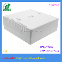 2pcs 5th battery case temperature control instrumentation security box plastic junction box 31*86*86mm