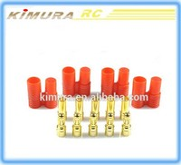 20Pairs 3.5mm Gold Plated Bullet Banana Plugs Male Female Connectors with plastic protector