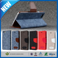 C&T Fashion new product customized faux leather stand protective case for iphone 6 plus