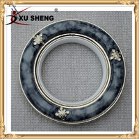 xusheng new models aluminum curtain rings