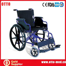 Steel wheelchair caster wheel