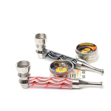 JL-191 Erotic Metal Smoking Pipes Parts Chinese Smoking Pipes