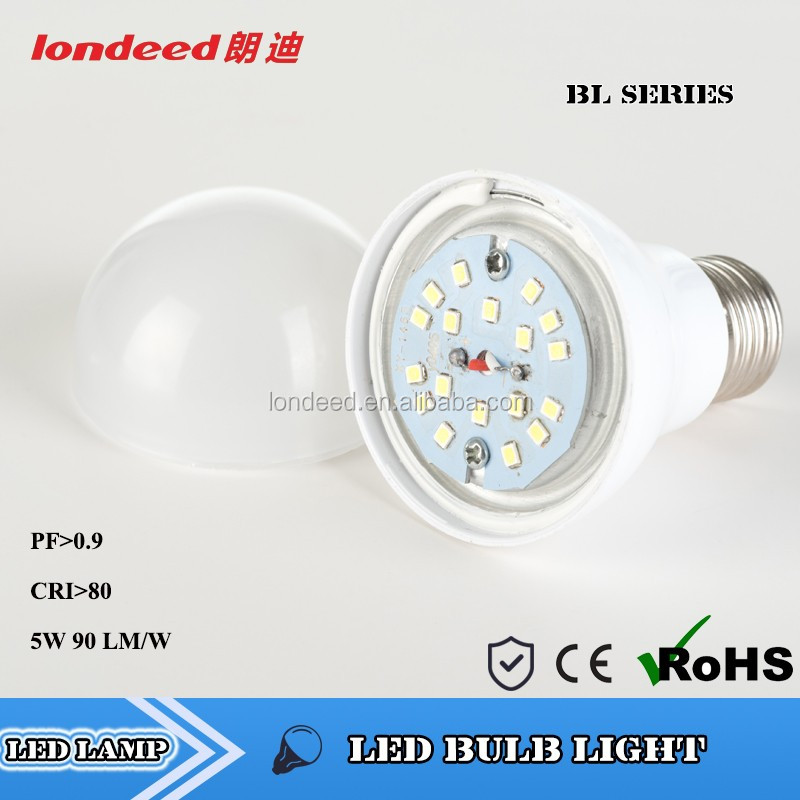 CE RoHs Approved Cool White LED Brick Light 450Lumen AC85~265V 5W led filament light bulb for Home Use