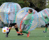 hot sale durable bumper bubble ball for soccer