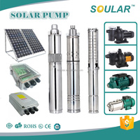 Submersible Solar 5 inch water pump ( 1.8cbm/hr-100m-270watt )