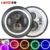 "High Quality 7"" led headlight 45w 7 inch High/Low Beam LED Headlight for Jeep Wrangler"
