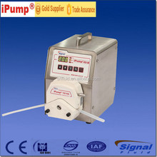 oil ,medical , water Peristaltic Pump with storing the running parameters