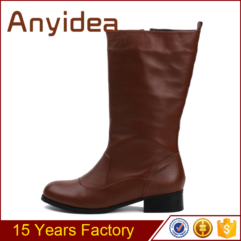 China shoe factory cheap $47 suede fashion ladies long boots for girls