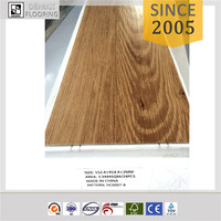 Maple Wood Pattern material interlocking vinyl flooring Vinyl Tiles Safety Flooring For Company
