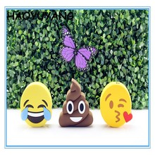 2600mAh New Arrival Wholesale Emoji Power Bank Charger Cheap Unicorn Powerbanks Cartoon Cute