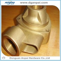 Non-standard OEM Bras casting and foundry parts in China manufacturer