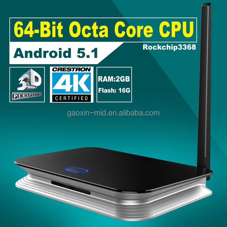 DHL Free shipping Z4 Android TV Box Octa Core RK3368 CPU Android l 5.1 Lollipop Smart TV Box,Z4 Ott TV Box