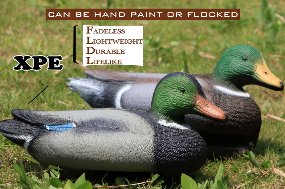 Wholesale used duck decoys newest Design Simulation Animal hunting Duck Decoy Duck and drake For garden Hunting Lovers