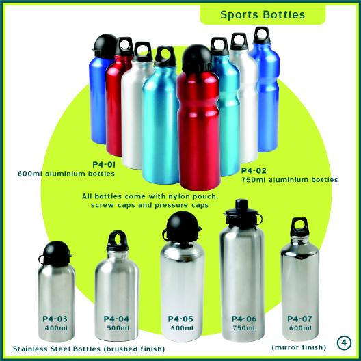 Aluminium Water Bottle & Stainless Steel Water Bottle