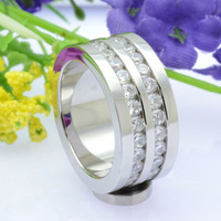 china factory mens 316L stainless steel rings blanks wedding band