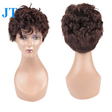 Brazilian Bob Style Human Hair Full Lace Wig In Dubai Ladies Wigs