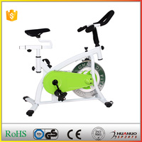 Wholesale White Stationary Champion Spin Bike w/Adjustable Resistance