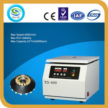 TD-400 benchtop centrifugal force machine