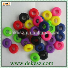 Hot-sale colored food grade silicone rubber grommets,Factory,ISO9001