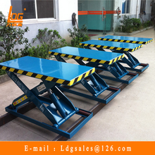China manufacturer stationary hydraulic scissor lift table with SJG0.5-1