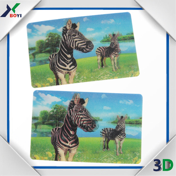 cartoon 3d lenticular sticker