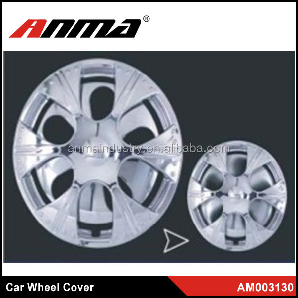 13 inch 14 inch Universal Silver ABS Plastic Wheel Covers for car