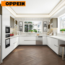 OPPEIN italian kitchen cabinet manufacturers removable laminate commercial kitchen cabinets