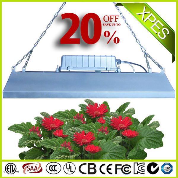 XPES energy efficient greenhouse grow lamps, hydroponic grow light, full spectrum grow light 600w