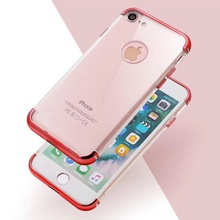 For iphone case wholesale 3 in 1 electroplating button tpu back cover case for iphone 6 6s 7 7s,China phone case manufacturer