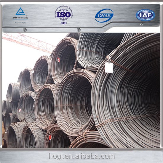 SAE1006 SAE1008 Hot Rolled Carbon steel wire rod 5.5mm 6.5mm 8mm 10mm 12mm