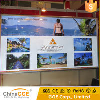 Aluminum Snap Slim LED Backlit Poster Frame Clip Poster Display Frame Advertising LED Snap Frame