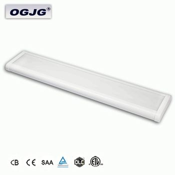 Factory Price Indoor Basketball hall 80w 120w 200w suspended Linear high bay lighting Fixture lounge led ceiling Batten Light