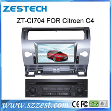 ZESTECH citroen c4 gps car dvd player with gps navigation