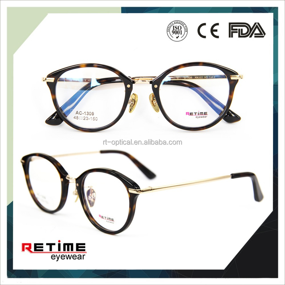 no brand eyewear frames european style eyeglasses frames design latest ladies optical(AC-1309)