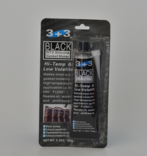 Neutral Black 85g RTV silicone gasket maker, actic black RTV silicone sealant 85 gram