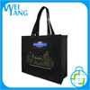 Custom recyclable paper gift bags with logo with handles for gift packaging bag