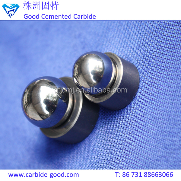 Grinding polished tungsten carbide ball and valve seats