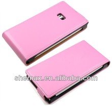 Flip Leather Case For nokia lumia 900, cell phone case for nokia lumia 900