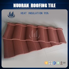 Nuoran used metal roofing interlocking price of installed concrete roof tiles