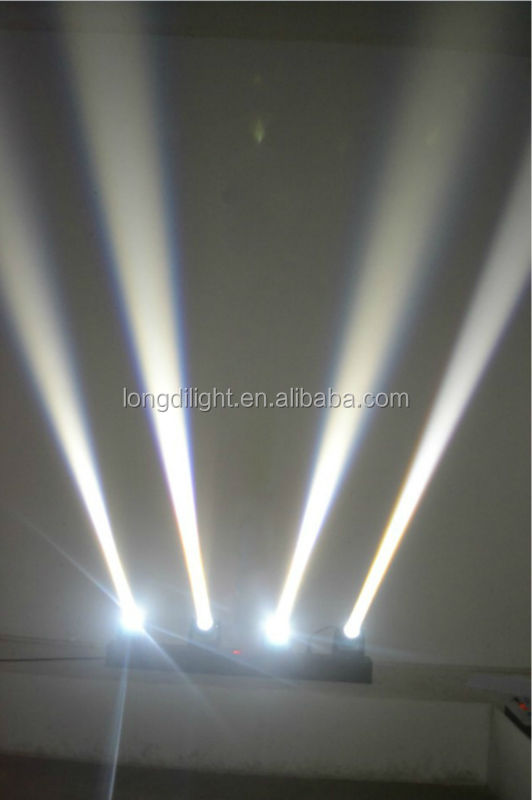 RGBW four head Beam rotation bar led beam 4-in-1 pr lighting moving heads beam project
