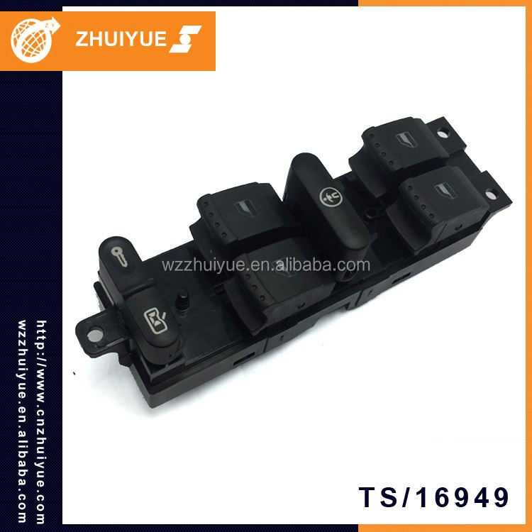 ZHUIYUE Accessories Parts Car 18G 959 857C 9Pin Auto Electric Window Switch For VW BORA