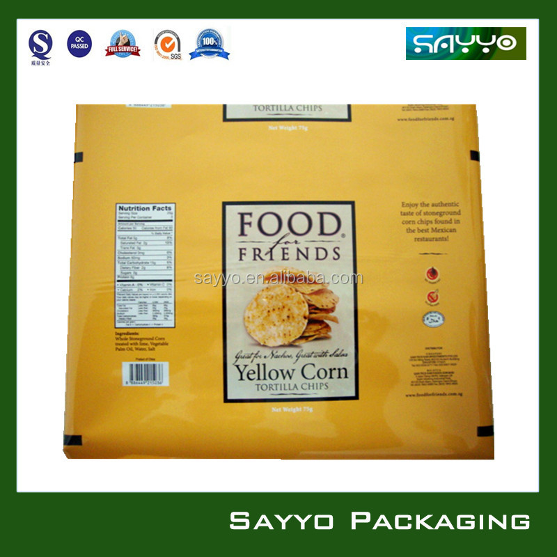 plastic food packaging bag/pouch in roll/plastic bag in roll