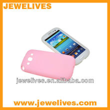 Water proof Colorful silicon case for Samsung galaxy S3 I9300 protect cover case