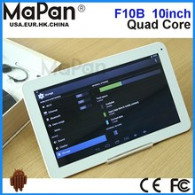MaPan F10B support 3d game /quad core 10 inch 1GB ram android phone tablet built-in stereo speaker