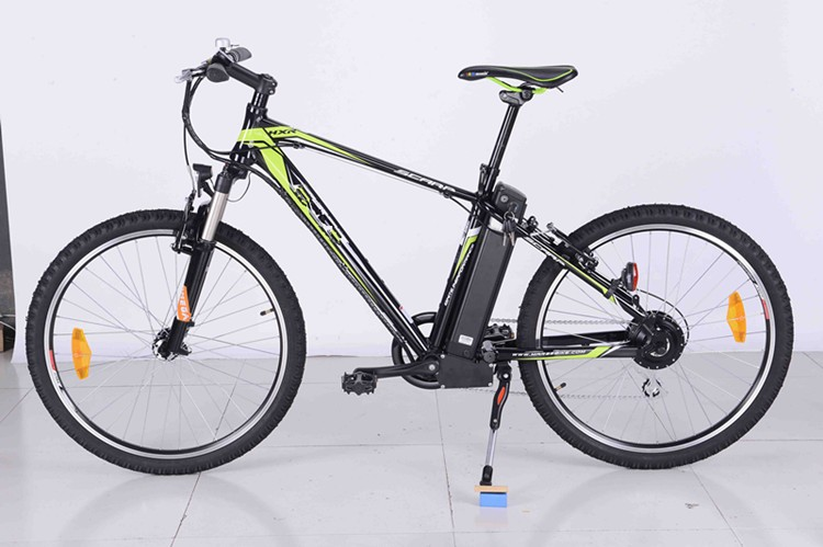 Cheap City Ebike Solar Power Green Bicycle