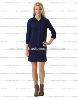 lady long sleeve fashion dress 2014